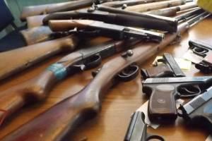 Брянские росгвардейцы изъяли 17 единиц оружия и 260 патронов