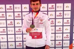 Ещё один брянец стал призёром Чемпионата Европы