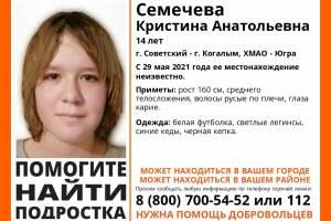 Брянцев просят помочь в поисках 14-летней девочки