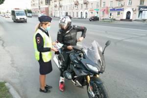 В трех районах Брянщины устроили облавы на мотоциклистов