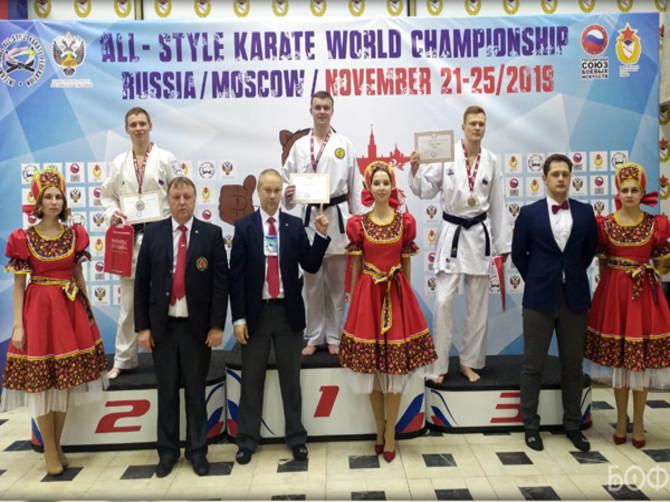 Брянцы завоевали девять медалей на чемпионате мира