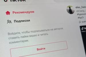 В России предложили замедлить популярную соцсеть TikTok