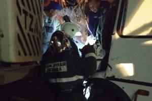 Пострадавших в ДТП с автобусом и бетономешалкой брянцев забрали в больницу