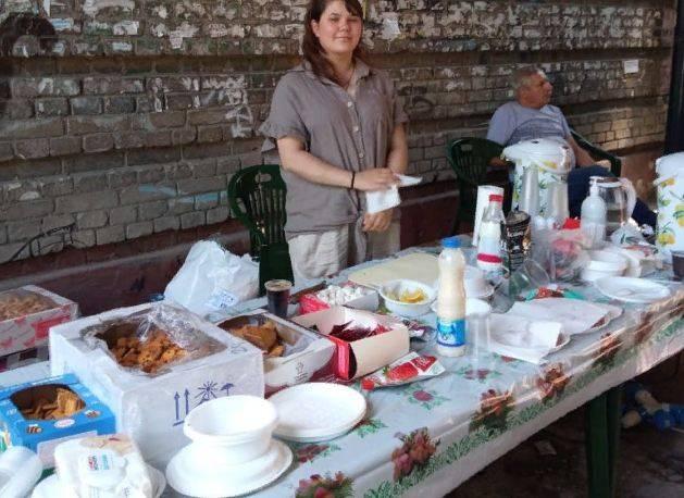В Брянске Лариса Садилова снимает фильм «Огород» на улице Куйбышева