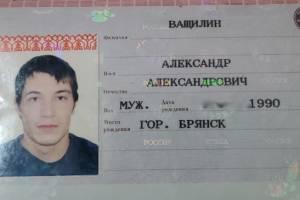 В Брянске среди мусора нашли паспорт Александра Ващилина