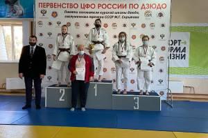 Брянские дзюдоисты завоевали 7 медалей на первенстве ЦФО