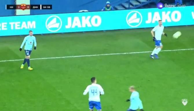 «Нижний Новгород» обыграл 3:0 брянское «Динамо»