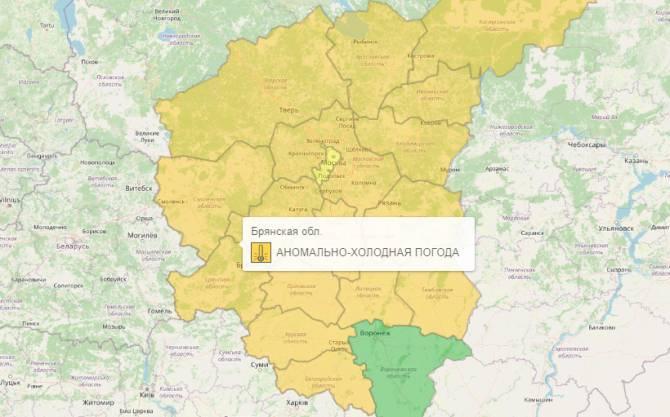 На Брянщине оранжевый уровень опасности продлили до 20 февраля