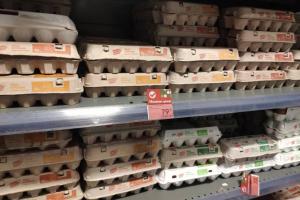 За месяц в Брянской области рекордно подешевели яйца