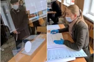 В Брянске на выборах за мужчину расписались неизвестные люди