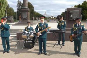 Брянские росгвардейцы сняли клип на песню «Цетральный округ»