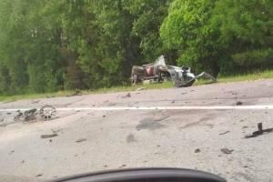 Серьезную аварию под Почепом устроил водитель легковушки