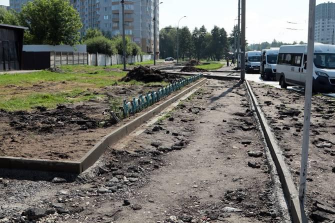 В Брянске на проспекте Московском заасфальтируют 7,5 тысячи квадратных метров