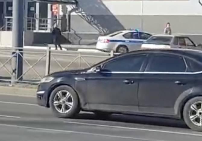 В Брянске полицейские устроили погоню за пенсионеркой