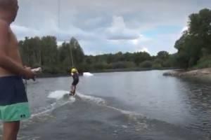 В Брянске на озере Мутном прошли соревнования сёрферов