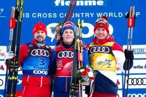 Брянский лыжник Большунов стал третьим в масс-старте на «Тур де Ски»