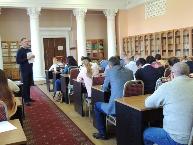 В Брянске в пятый раз написали польский диктант