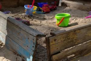 В брянском поселке Белая Березка заметили песочницу-убийцу