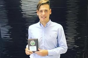 Брянский вратарь Олег Ларин стал лучшим голкипером в Тульской области
