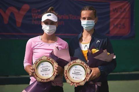Брянская теннисистка Влада Коваль привезла серебро из Казахстана