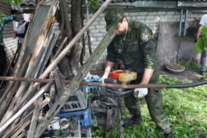 В Брянске 63-летний пьяный уголовник убил приятеля лопатой