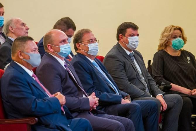 Брянский депутат Борис Пайкин поздравил губернатора с инаугурацией