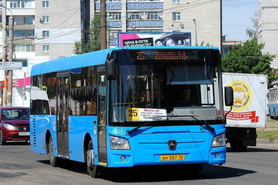 В Брянске насчитали 100 маршрутов пассажирских перевозок