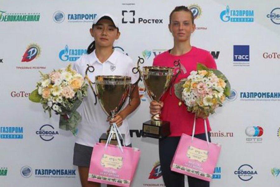 Брянская теннисистка Влада Коваль дошла до финала турнира «Moscow Open»