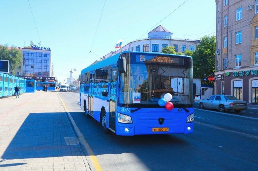 В Брянске на новый общественный транспорт потратят 705 миллионов рублей