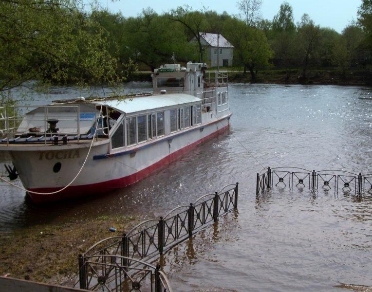 В Брянске выставили на продажу легендарный теплоход «Тосна»