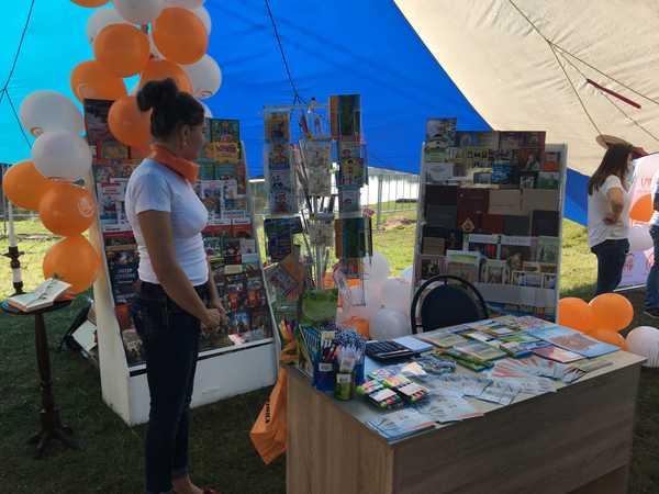 В Брянск на «Свенской ярмарке» работает литературный уголок