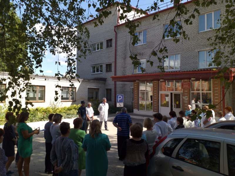 В Сураже эвакуировали центральную районную больницу