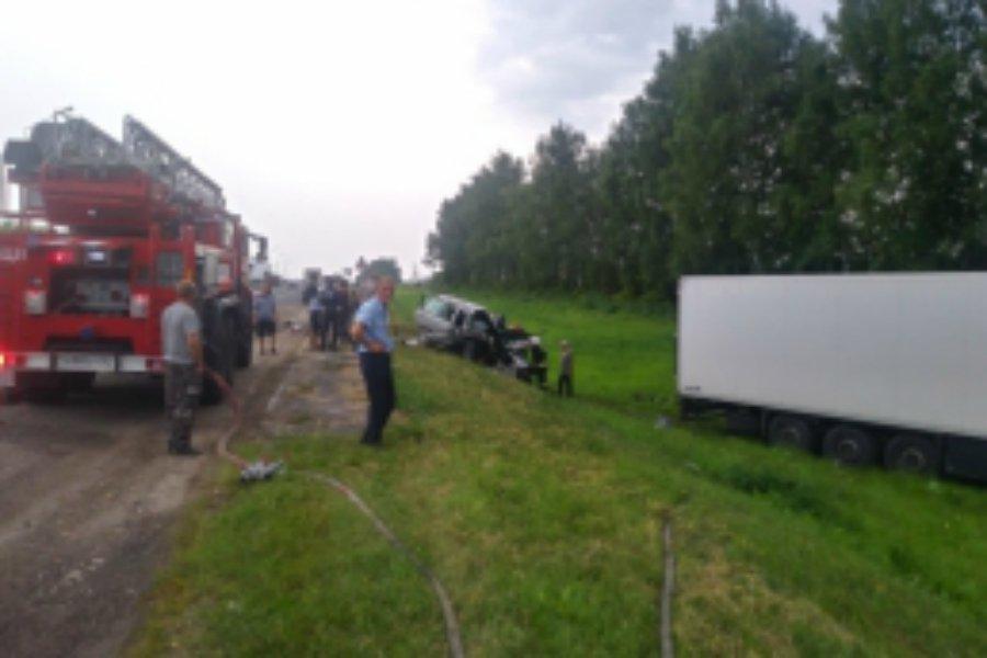 В автокатастрофе под Карачевом пострадали четыре человека