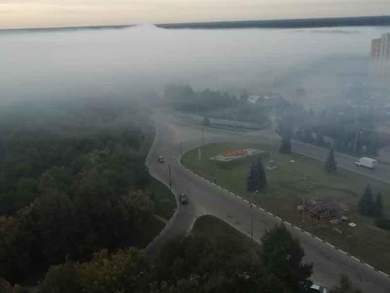 В Брянске район мясокомбината продолжает задыхаться от дыма
