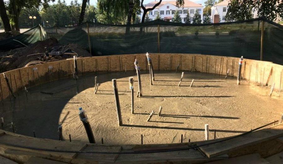 В Стародубе 21 сентября в День города откроют новый фонтан