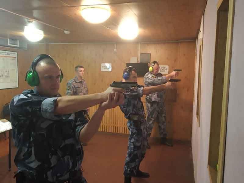 Брянские конвоиры УФСИН показали свои навыки