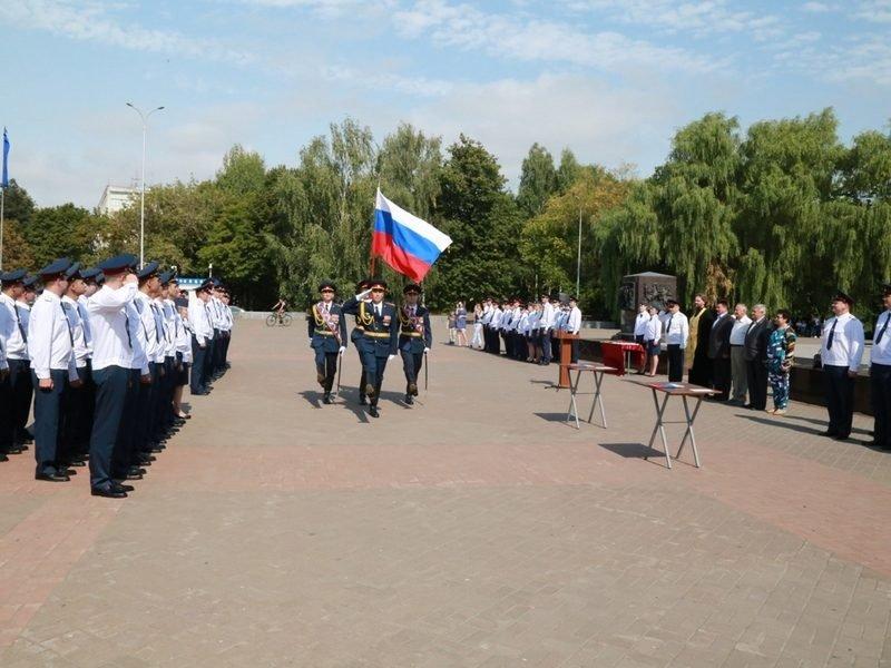 В День флага в Брянске сотрудники УФСИН принесли присягу