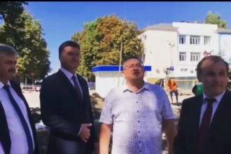 Власти Брянска проверили «на камеру» ход реконструкции в Круглом сквере