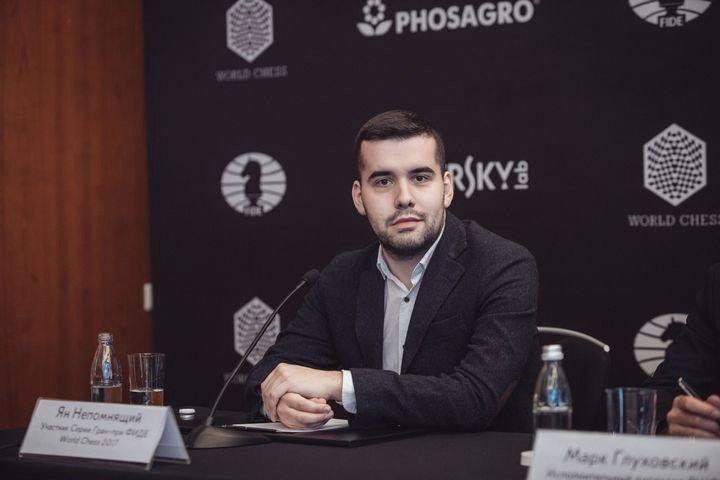 Брянский гроссмейстер Ян Непомнящий победил на этапе Кубка Синкфилда в Сент-Луисе