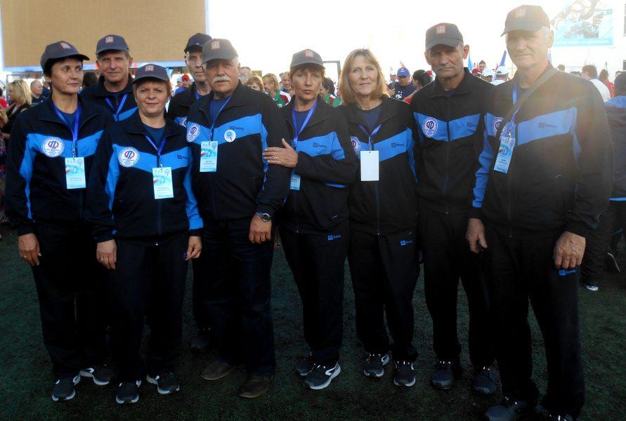 Команда Брянщины стала первой в ЦФО на спартакиаде пенсионеров в Уфе