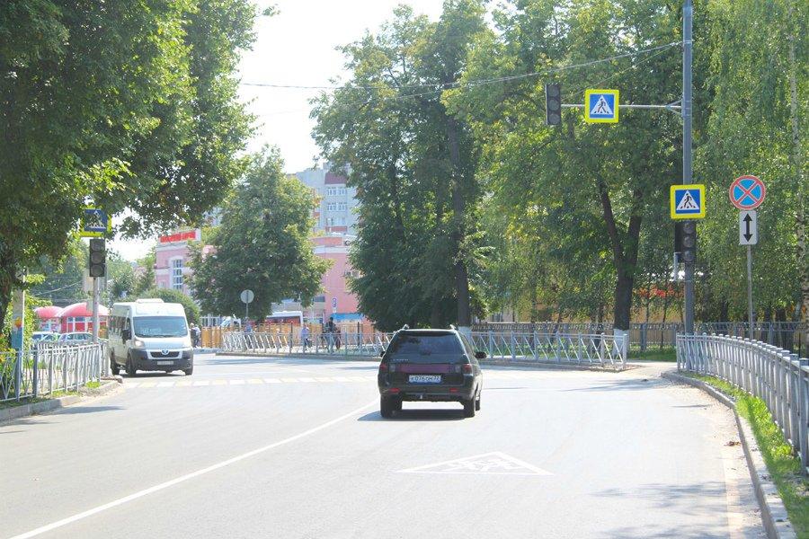 В Брянске отремонтированную улицу Пересвета 9 августа ждет комиссионная приемка