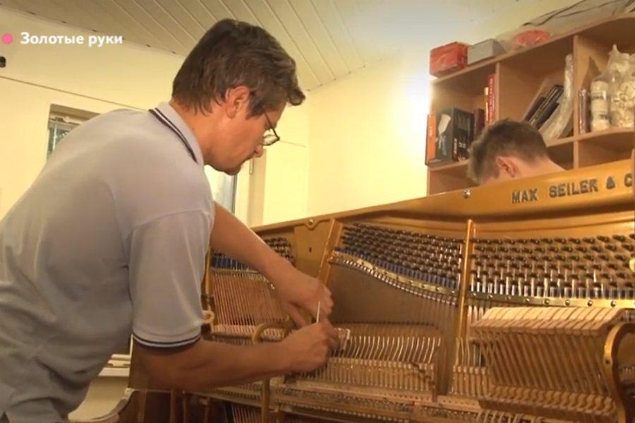 В Брянске поселится 90-летнее немецкое пианино