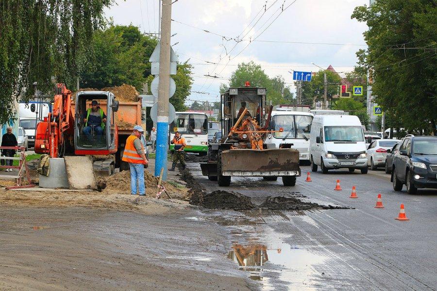 В Брянске готовят к сдаче пять капитально отремонтированных дорог