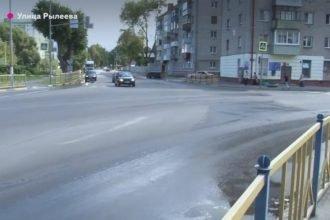 В Брянске госкомиссия забраковала капитальный ремонт улицы Рылеева