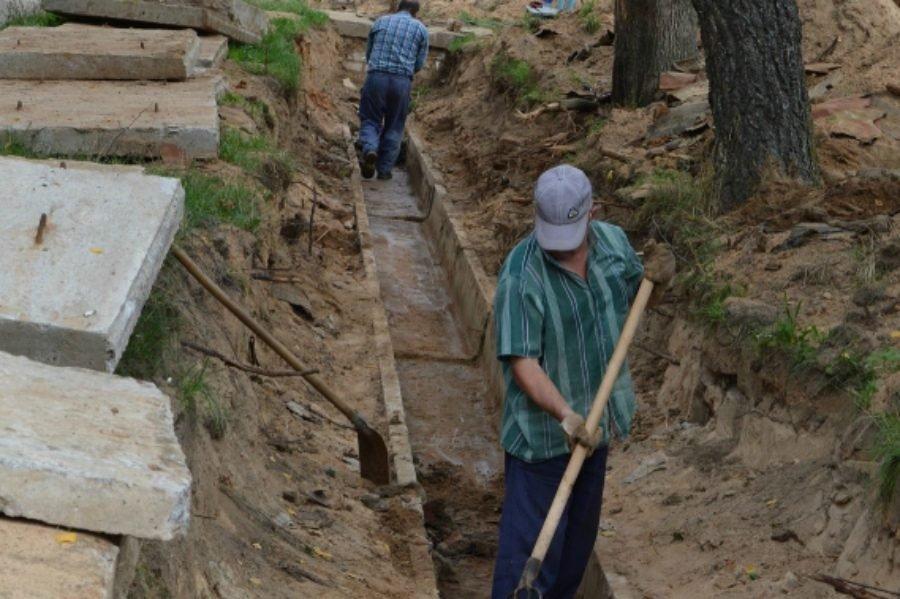 В Гордеевском районе меняют изношенные тепловые сети