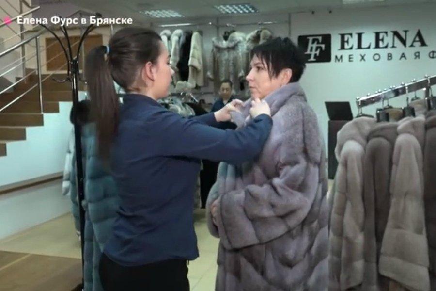 Готовь сани летом: в Брянске открылся салон меха Елены Фурс