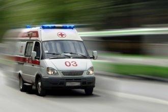 На брянской трассе перевернулась легковушка: ранен 59-летний мужчина