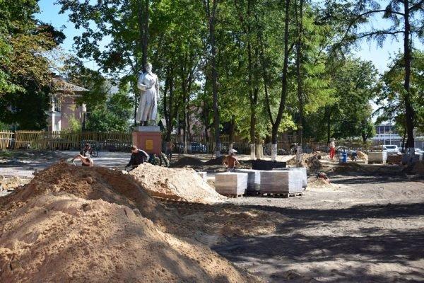 В Клинцах отремонтируют сквер имени Н.А.Щорса