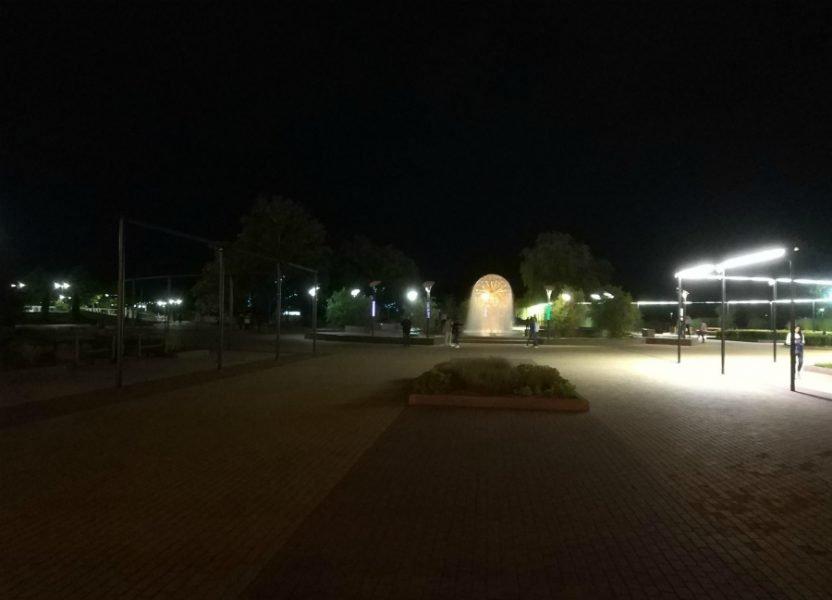 ВБрянске погрузилась во мрак Славянская площадь