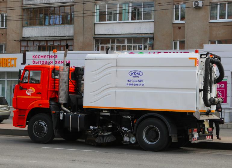 В Брянске за 80 миллионов рублей купят новую коммунальную технику